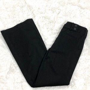 Loft Black Bootcut Dress Pants